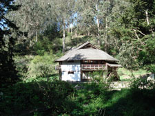 The Yurt at Green Gulch Zen Center